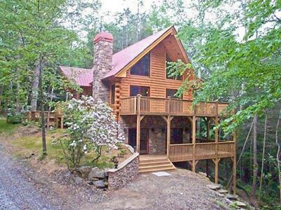 Walnut Hills - Private log home with creek! - Image 1 - Franklin - rentals
