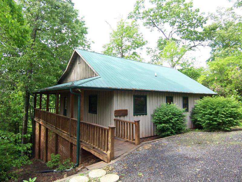 Cabin on the Creek - Trout Stream Cabin in the Woods-Laurel Mtn. Cabins - Hiawassee - rentals