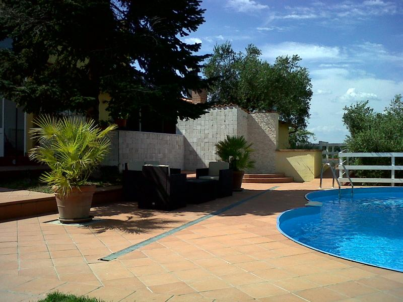 pool - Villa in Vejo Park with private pool . - Rome - rentals