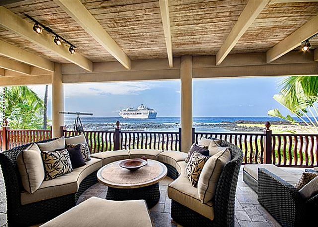 Ocean Front Lanai - #PHKBE18 - Kona Bay Bliss at Kona Bay Estates-PHKBE18 - Kailua-Kona - rentals
