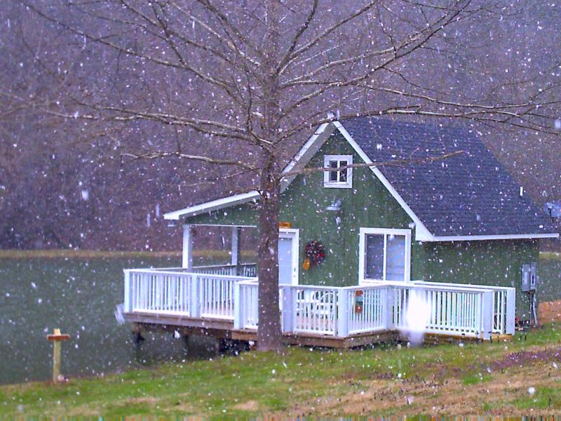 Winter on the Pond - Tranquility on the Pond - Sevierville - rentals