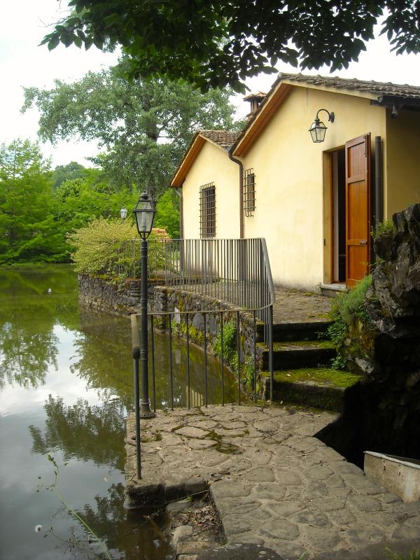 Romantic cottage overlooking the lake - IL MULINO - Image 1 - Pistoia - rentals