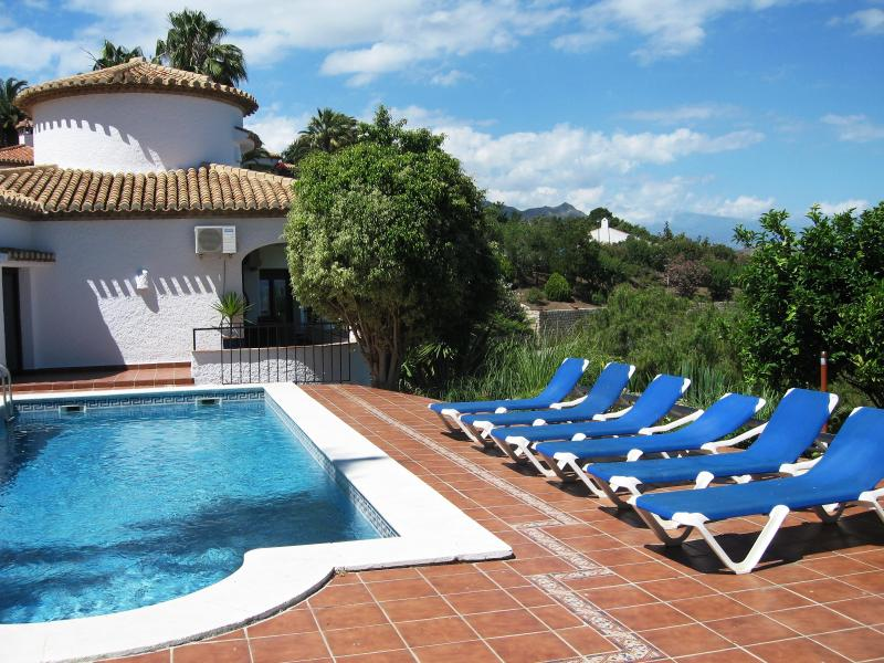 pool - Luxury Villa With Panormamic Sea & Mountain Views. - Salobrena - rentals
