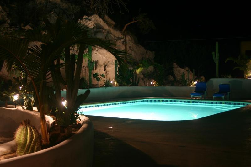 Night Swim at Las BouganVillas - Beautiful 2 and 3 bd Poolside Homes - OnSite ATVs! - Los Barriles - rentals
