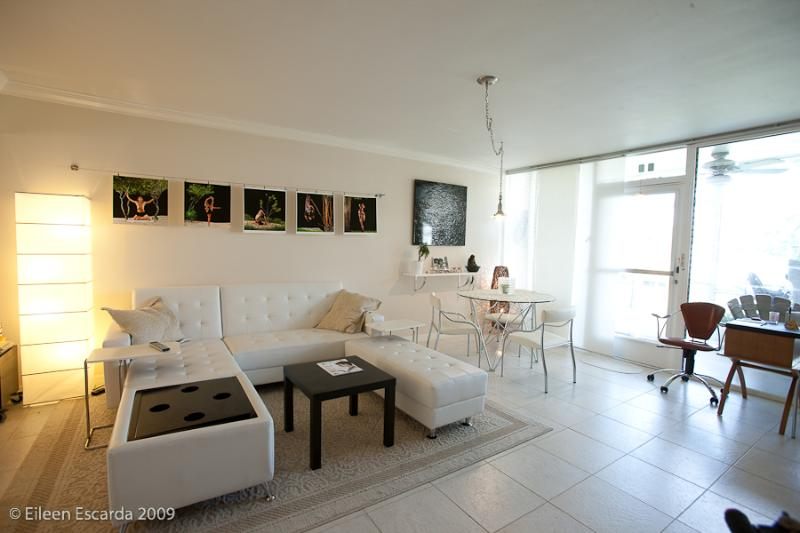 Living room - Fort Lauderdale Beach, 1 BR Waterfront, Dockage, GREAT LOCATION - Fort Lauderdale - rentals