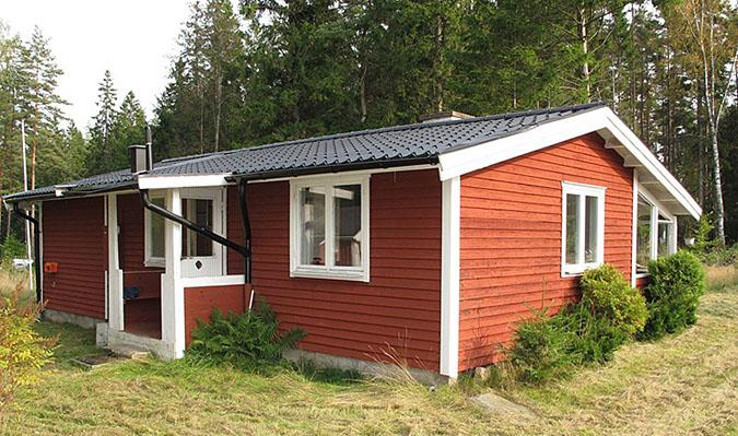 Entrance - Rental house in Southern Sweden in beautiful nature between 2 lakes. - Unnaryd - rentals