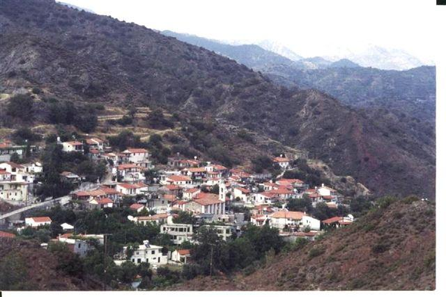 View of KaloChorio village - Remodelled Traditional Village House - Agros - rentals