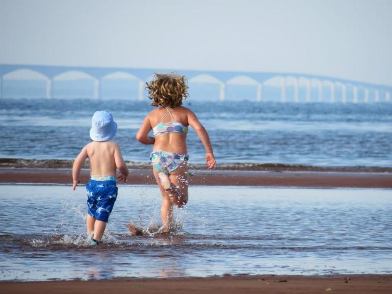 Race you to the Bridge? - PEI Beach House By The Bay~ warm water & sunsets - Albany - rentals