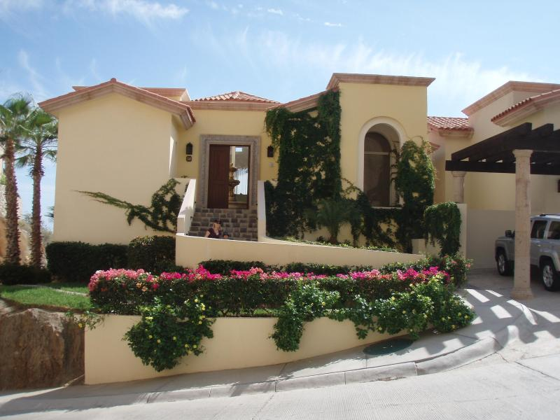 Front of Villa - Montecristo Estates - October and November - Cabo San Lucas - rentals