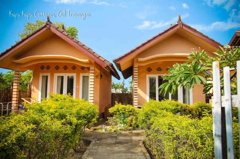 Selamat Datang and Welcome to Kupu Kupu Cottages on the tropical island of Gili Trawangan. - Kupu Kupu Cottages 2 on Gili Trawangan - Gili Trawangan - rentals