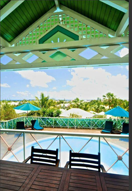 Villa Blue Bay, Orient Bay, St Martin, at Green Cay - BLUE BAY at Green Cay Villas... affordable villa with views of Orient Bay, walk to this famous fun filled beach! - Orient Bay - rentals