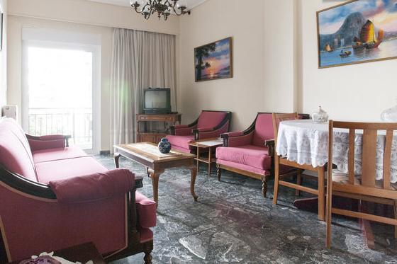 living room - Furnished Flat Near Athens - Attica - rentals