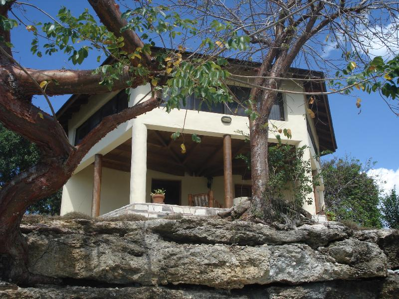 View from the pier. - Cosy little COUNTRY HOUSE by river - La Romana - rentals