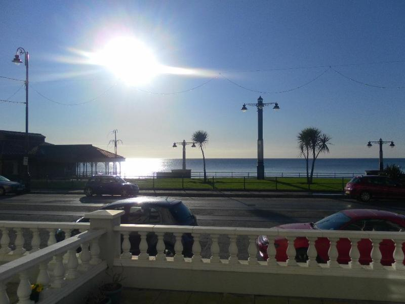 VIEW FROM LOUNGE - Promenade Apartment, Isle Of Man  4 STAR - Douglas - rentals