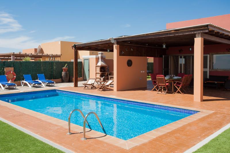 Vista principal piscina - Villa Oneida - Caleta de Fuste - rentals