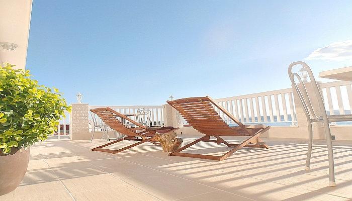 Villa Bonaca - luxury apartment, panoramic view - Image 1 - Baška - rentals