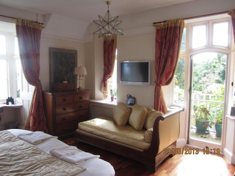 As you enter into the Room - Apartment in Historic Country House with Sea Views - Lynton - rentals