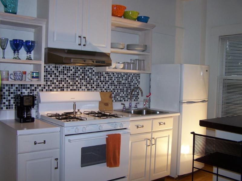 Kitchen - Portland, ME - East End Garden Suite - Portland - rentals