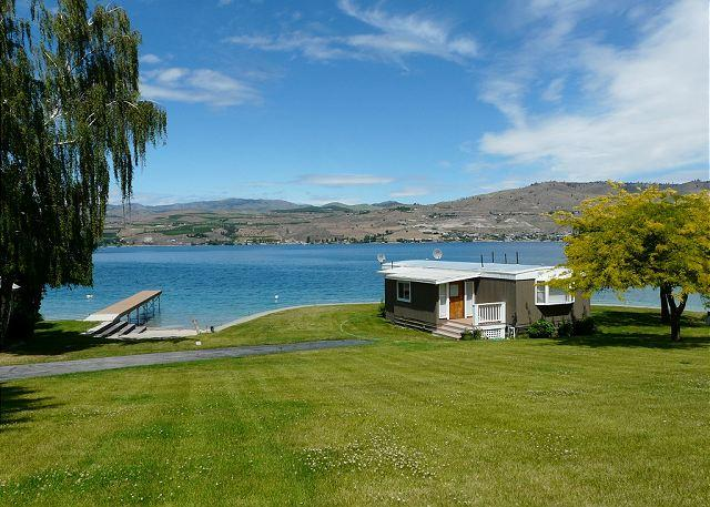 Pleasant Cove Waterfront Cabin - Image 1 - Chelan - rentals