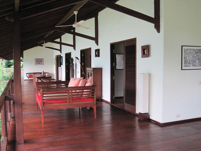 Veranda Villa Gamrang - Villa Gamrang - Tropical hide away on West Java - Cisolok - rentals