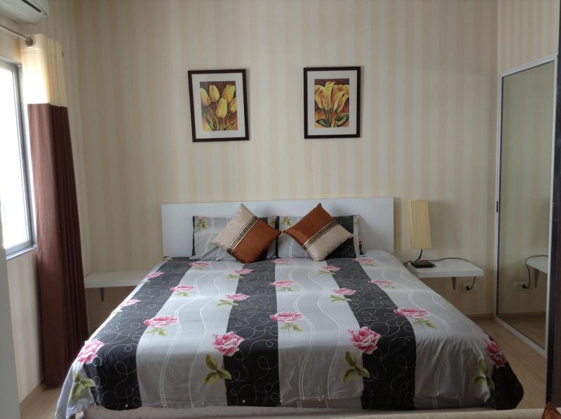 Bedroom - Nice 1BR -Wifi -MRT - Central - Bangkok - rentals