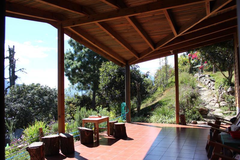 veranda - *NEW* Nature Lovers Mountain Retreat near Antigua - San Juan Sacatepequez - rentals