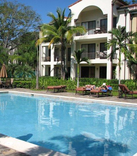2nd Floor end unit pool side Building 12 location - Pacifico preferred Lifestyle 12 building overlooking serene classical pool - Playas del Coco - rentals