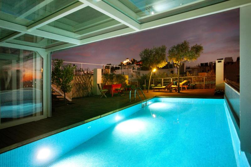 A Penthouse in Athens / Heated Pool-Acropolis View - Image 1 - Athens - rentals