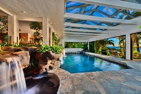 Hale O Wailele Estate - Waterfalls over Lava Rock and Jetted tub, Spectacular Sunsets - Image 1 - Maui - rentals