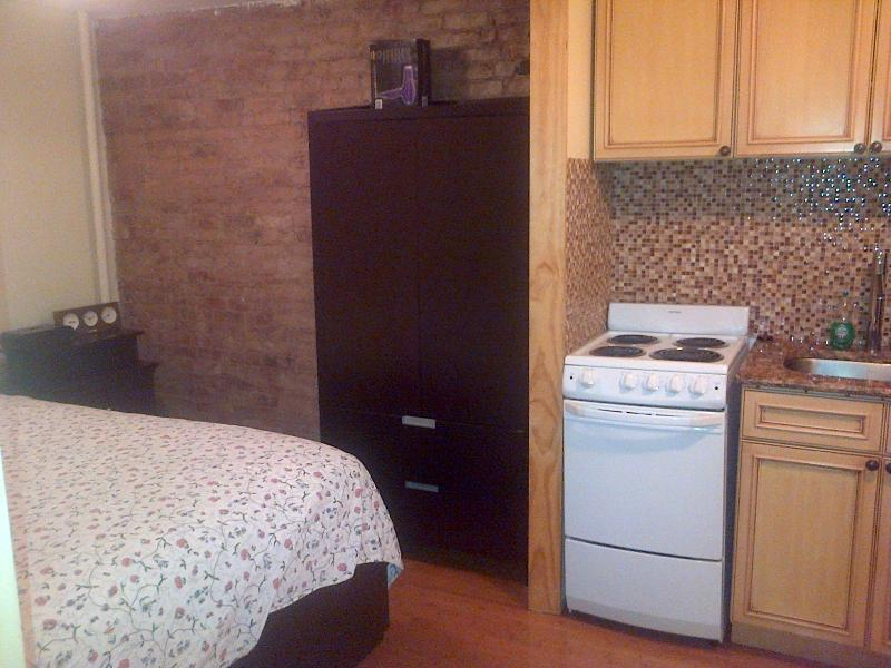 bed/kitchen area - Look!!!!  ~~~Welcome To Apt12~~~too Cute!!! - New York City - rentals