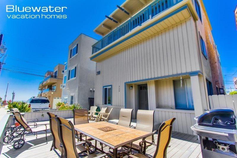 Mission Beach Vacation Rental - Beachcomber II - South Mission Beach Vacation Rental - Pacific Beach - rentals