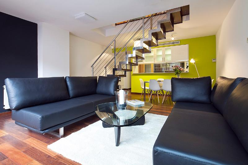Living room - Garden Pool 5 apartment - Barcelona - rentals