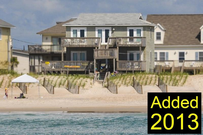From the water - Topsail Road 238 -4BR_SFH_9 - North Topsail Beach - rentals
