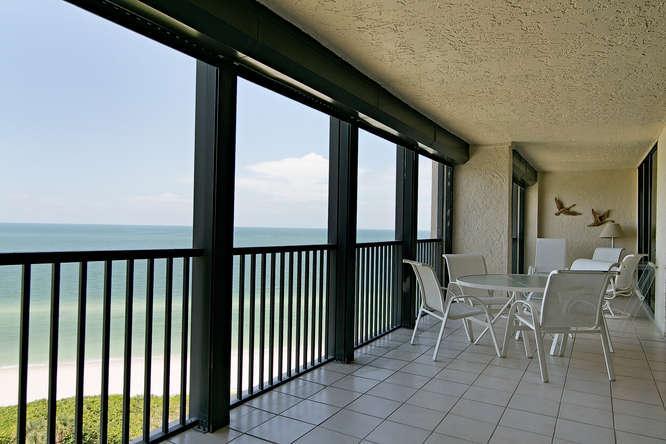 Lanai View - Vanderbilt Gulfside - Naples - rentals
