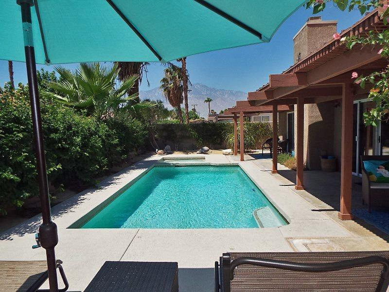 Daytime Pool View - Claddagh House - Cathedral City - rentals