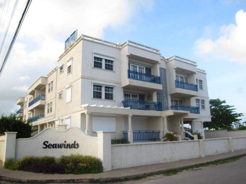 Outside View of Unit - Seawinds - Two minute walk from the beach. - Silver Sands - rentals