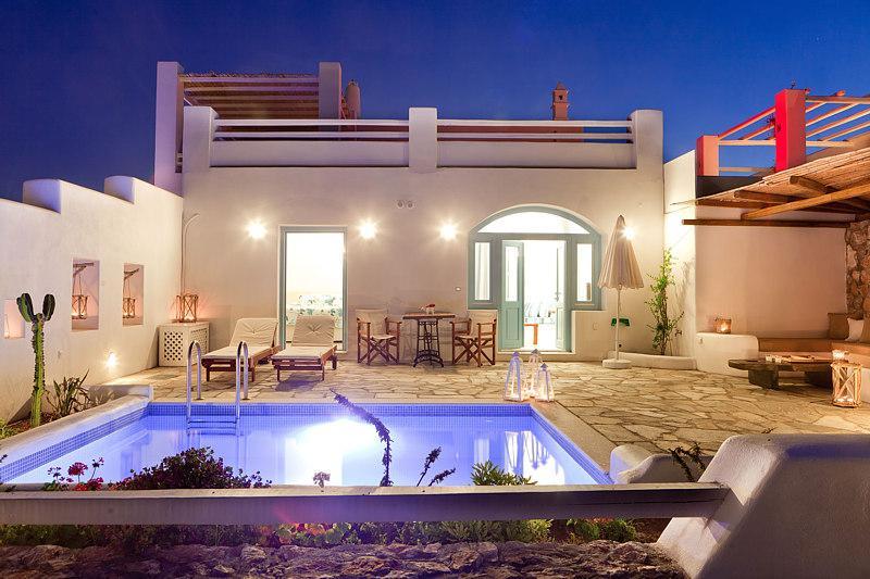 Zephyros - Spectacular new villa in Santorini - Image 1 - Santorini - rentals