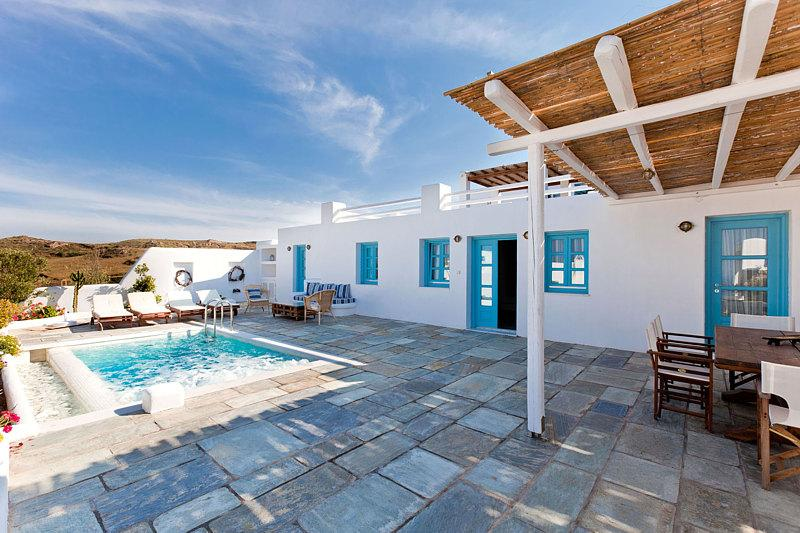 Skiron - Spacious villa in Santorini, private pool - Image 1 - Santorini - rentals