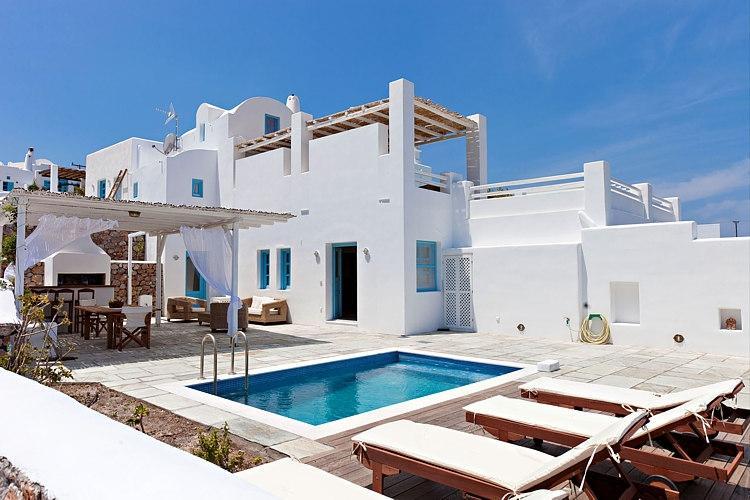 Levantes - Elegant family villa in Santorini - Image 1 - Santorini - rentals
