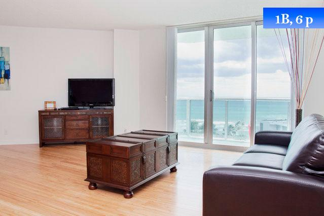 Sea View Apt For 6 In Hollywood Beach, Fl (Miami) - Sea View Apt For 6 In Hollywood Beach - Hollywood - rentals