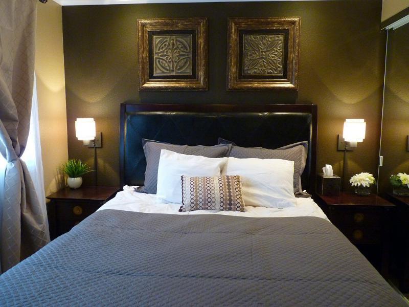 Master Bedroom. Queen Size Bed, 600 thread count sheets - South Maui Kihei 2 bedroom 2 bathroom Condo DELUXE - Kihei - rentals