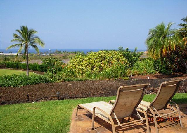 View from Lanai - Kamilo House 2, Fanatastic Views from a 3 bedroom 2.5 bathroom home-PHKam2 - Kailua-Kona - rentals