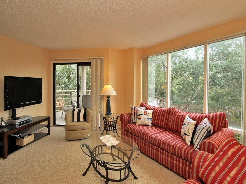 Living Area at 2216 Villamare - 2216 Villamare - Hilton Head - rentals