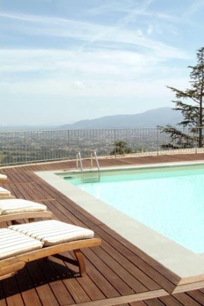 Girasole with pool,sauna & gym on the countryside - Image 1 - Lucca - rentals