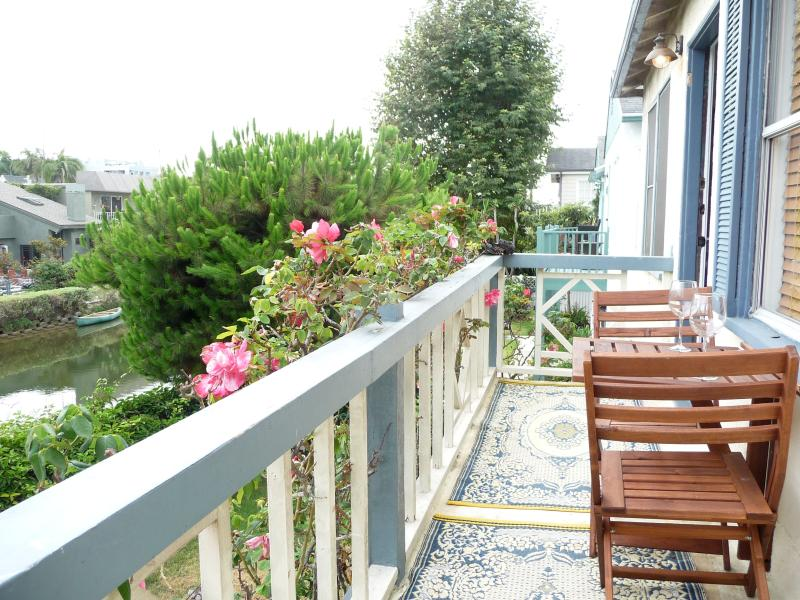 Balcony - Beach Apartment on the water, 2 bedrooms.. - Los Angeles - rentals