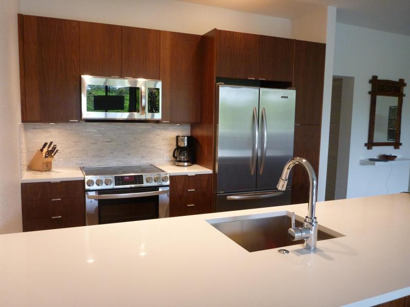Fully equipped kitchen for all your cooking needs - Stunning Modern Remodel! Enjoy Our Luxury Condo - Wailea - rentals