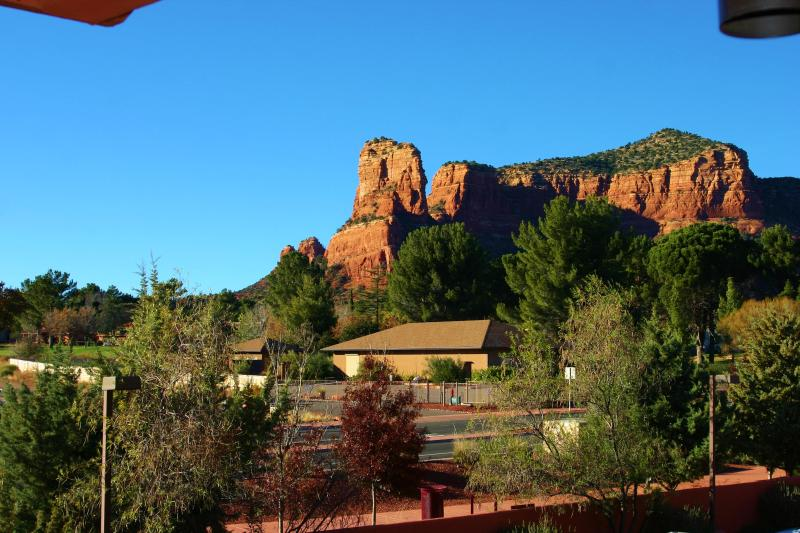 View from Balcony - Sedona Townhouse Unit - J - Sedona - rentals