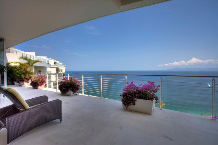 View from the patio - Paramount Bay Penthouse - Puerto Vallarta - rentals