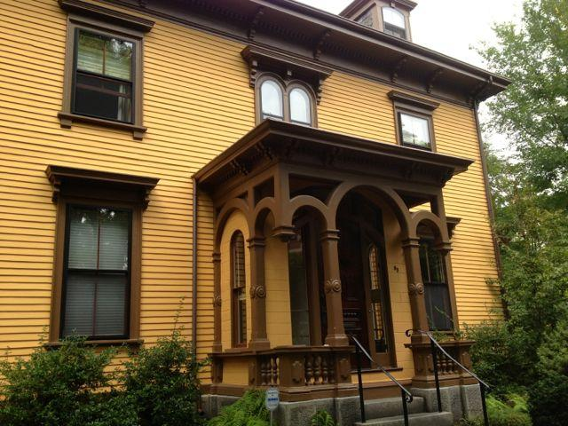 Front of house - Newly-renovated Apt among Trees - Boston - rentals