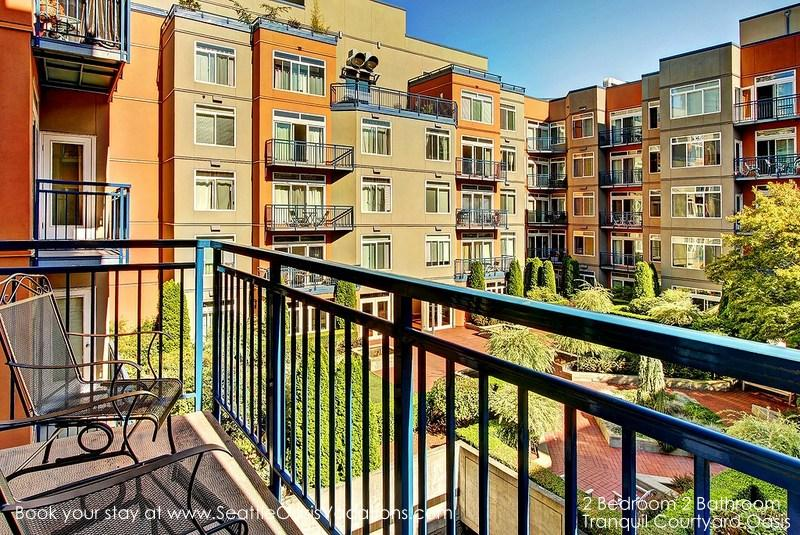 2 Bedroom 2 Bath Tranquil Oasis-Walk to all the Seattle Sights! - Image 1 - Seattle - rentals